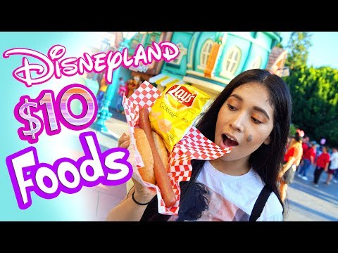 Top 5 Best Disneyland Foods For $10! | Disneyland Foodie Tips