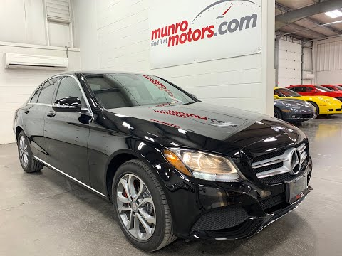 2015 Mercedes-Benz C-Class 4dr Sdn C 300 4MATIC just 44k kms