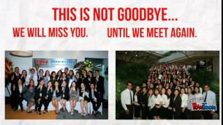 This is not Goodbye LTA Farewell Video 08202015