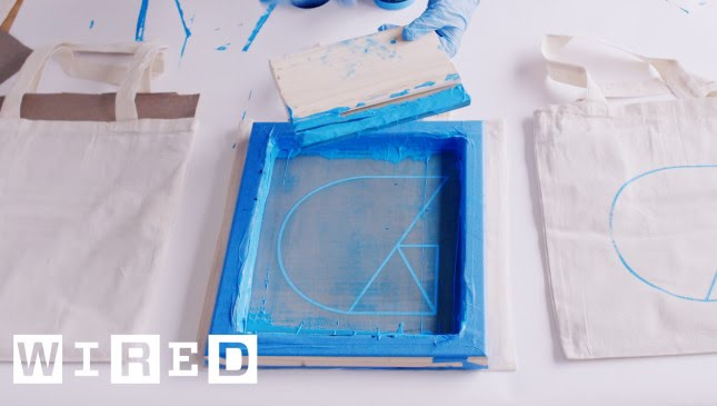 4a257ade DIY: How To Burn a Silkscreen and Print at Home - YouTube