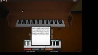 Roblox piano | | Última respiração-FNAF noite Custom Ultimate