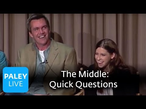 The Middle - Quick Questions for the Cast (Paley Center Interview)