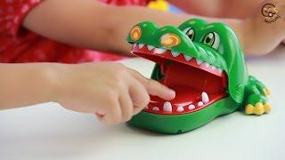 Открываем и играем в настольную игру Крокодил. Манкиту