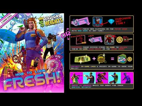 Today We Play A 1980's PUBG | Radical Heights