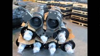 Натяжитель (механизмі тарту) үшін шынжыр табанды жүріс жүйесін компаниясының ПромТехСервис
