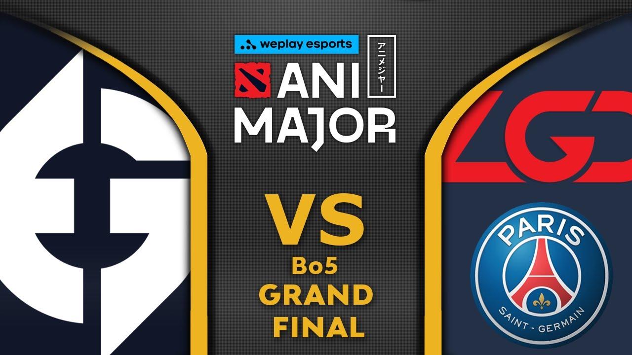 EG vs PSG LGD - GRAND FINAL - ANIMAJOR 2021 WePlay Dota 2 Highlights
