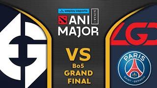EG vs PSG LĠD - GRAND FINAL - ANIMAJOR 2021 WePlay Dota 2 Highlights