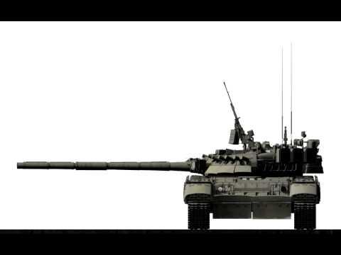 3d модель Т-80УК