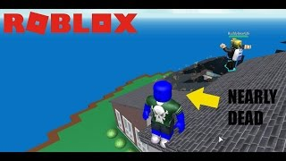I ALMOST DIED!! (Roblox Survive The Natural Disaster)