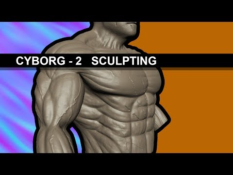 CYBORG - 2 [ SCULPTING (Normal Map) ]