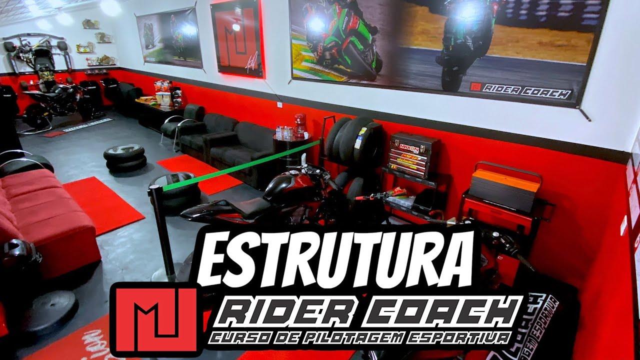 ESTRUTURA RIDER COACH (sede) Curitiba-PR