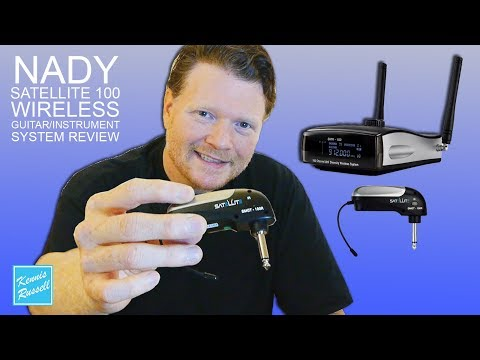 "Nady Satellite 100 ""Budget"" Wireless Guitar/Instrument System Review"
