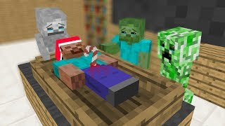 Kids Monster School- Merry Christmas - Draw - Minecraft Animation