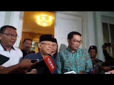 Usai Wali Kota Solo, Giliran Ridwan Kamil Sambangi Ma'ruf Amin Mp3