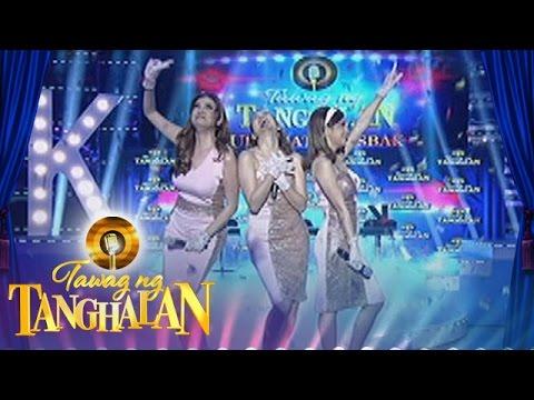 Tawag ng Tanghalan: Karylle, K and Kyla in a girl power performance