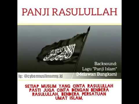 Panji Rasulullah Al-Liwa Ar-rayah Berkibar Dibumi Allah