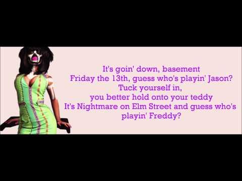 Nicki Minaj - My Chick Bad Verse Lyrics Video