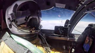 U2 Dragon Lady Pilot Prep & Flight + Cockpit Video