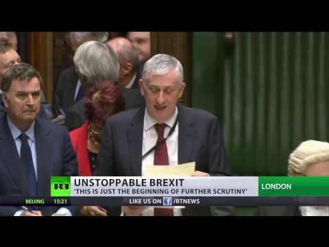 Brexit bill greenlit as MPs vote for Article 50 to be triggered by 494 to 122 votes