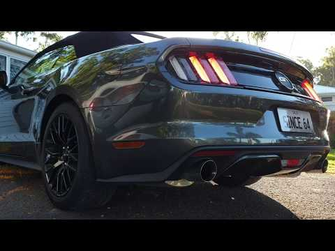 Supercharged Ford Mustang GT Exhaust Sound