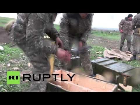 Nagorno-Karabakh: Armenian forces answer Azerbaijani manoeuvres in Karabakh clashes