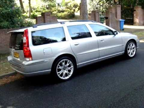 volvo v70 2 4 d5 se estate youtube. Black Bedroom Furniture Sets. Home Design Ideas