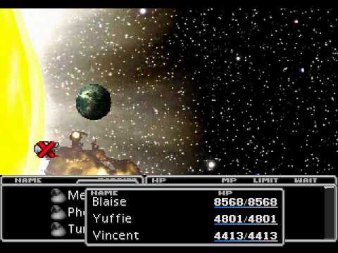 Final Fantasy 7 - Part 46 - One Winged Angel & Ending