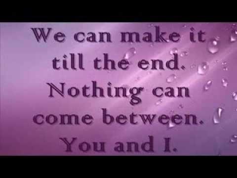 You and I ~ One Direction (MM lyrics) - YouTube