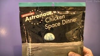 Astronaut Food - Chicken Space Dinner