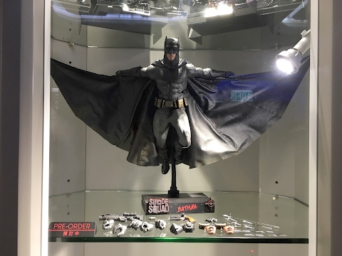 Batman prototype from Suicide Squad by Hot Toys at Secret Base HK