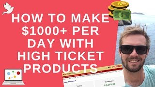 How To Sell High Ticket Products Online 🔥 Make $1000+ Per Day 🔥