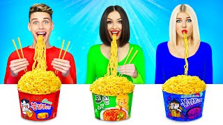 Download No Hands vs One Hand vs Two Hands Eating Challenge! Funny Food Situations by RATATA