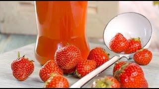 ЛИКЁР КЛУБНИЧНЫЙ! Домашний ликер Ксу-ксу. Strawberry liqueur. Homemade liqueur XU-XU
