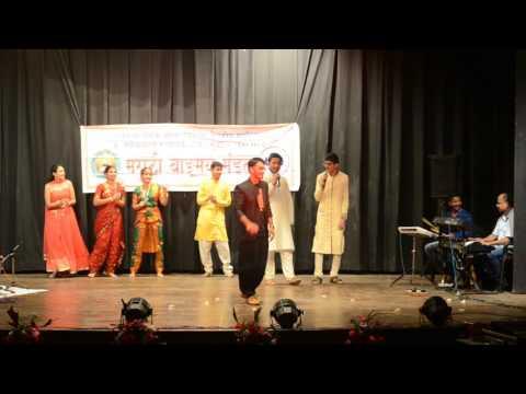 Sangatina Majya Dhol Bajave - Aishwaryaraj Rokade At Rimzim 2016 LTMMC And GH