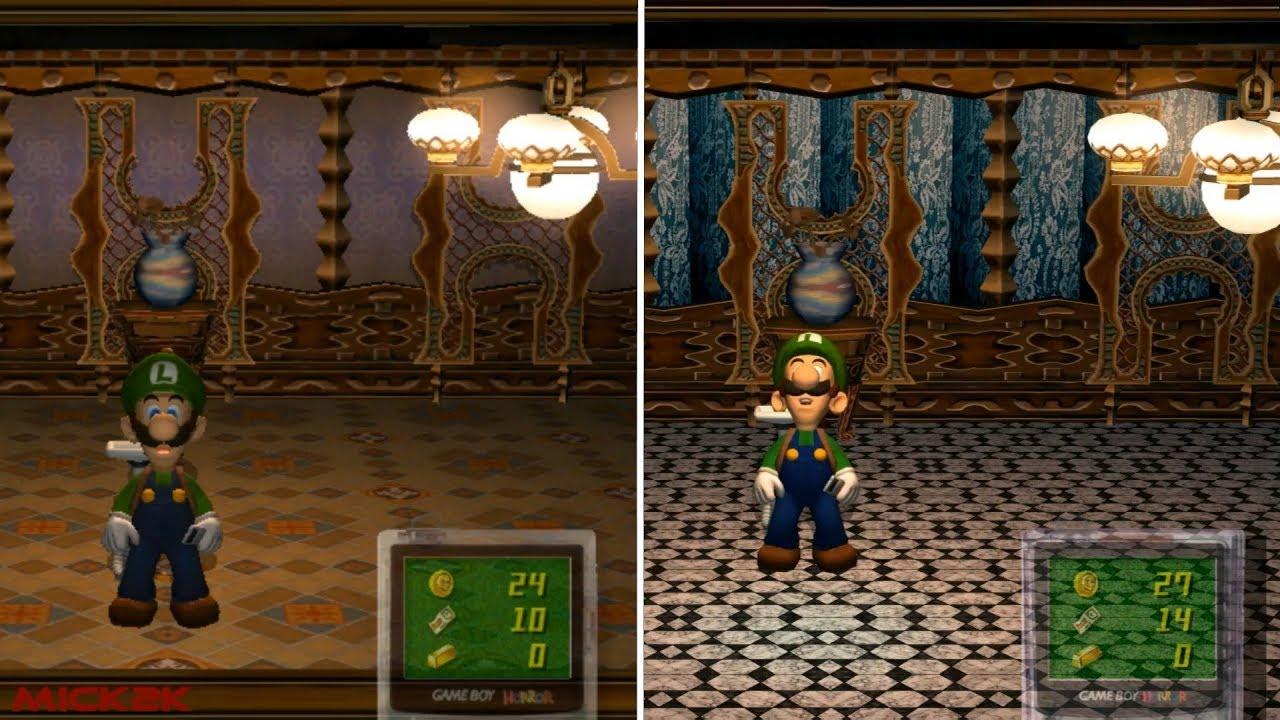 Luigis Mansion HD - Texture Mod - Gamecube/Dolphin Emulator