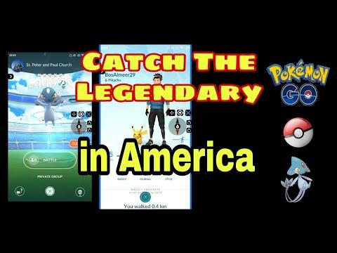 Level 5 Catching Azelf In San Fransisco America - Pokemon Go Hack