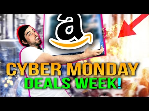 best cyber monday tech deals 2016 amazon daily weekly picks youtube. Black Bedroom Furniture Sets. Home Design Ideas