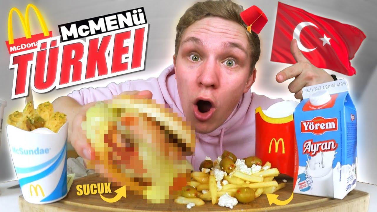 McDonald's MENÜ CHALLENGE I Türkisches Sucuk McMenü