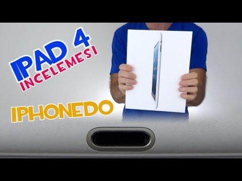 iPad 4 Kutu açılımı, incelemesi ve diğer iPadler ile karşılaştırması.