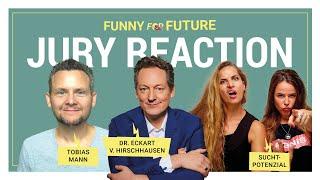 Funny for Future – Jury Reaction (Eckart von Hirschhausen, Suchtpotenzial, Tobias Mann)
