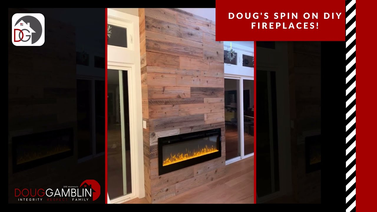 Doug's DIY: I installed an electric fireplace and YOU can too!