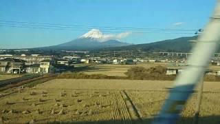 富士山 新幹線車窓 Mt Fujj from Shinkansen