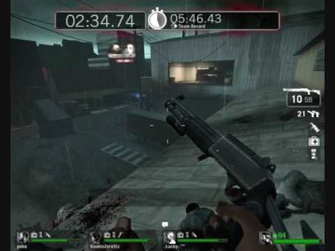 No Mercy level from Left 4 Dead
