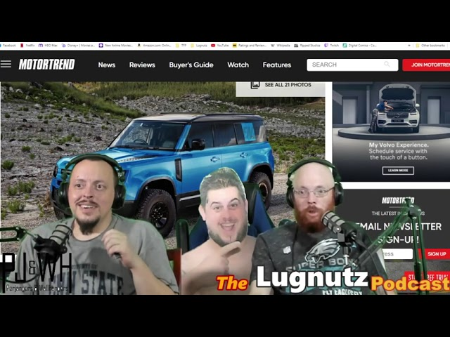 #239 Lugnutz Podcast: Electric Rally Car Transformer