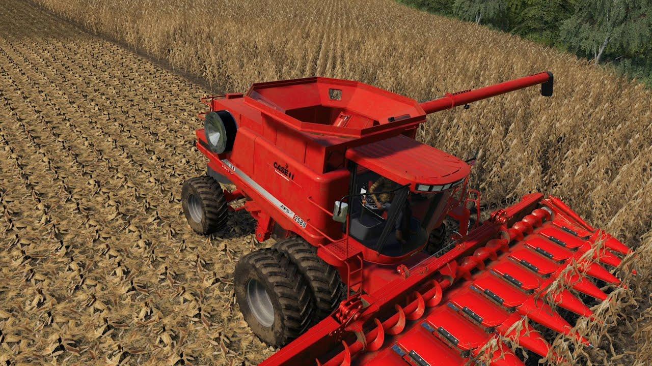 Elkader IA EP#24 | Harvest | FS19 Timelapse | Farming Simulator 19 Timelapse