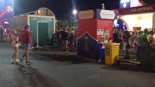 Фан-зона фестиваля болельщиков ЧМ-2018 по футболу (fan-zona, fest samara)