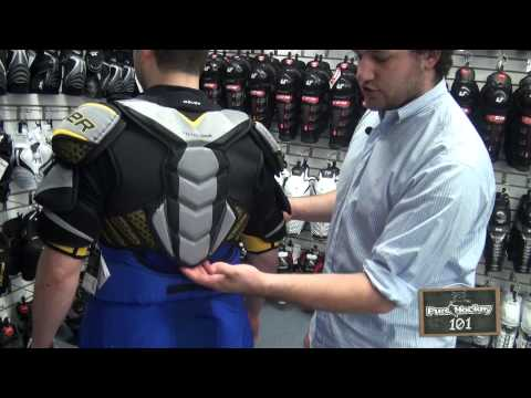 How To Choose & Fit Hockey Shoulder Pads