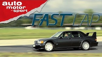 Mercedes 190E Evo II: Der BMW-M3-Rivale - Fast Lap   auto motor und sport