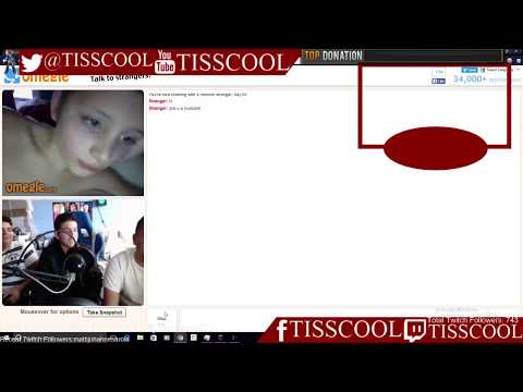 Omegle/Chatroulette Noob (My First Time Using These Sites)