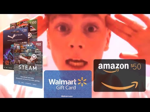 Wanna join my free gift card giveaway? - YouTube